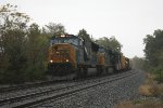 CSX train Q409 near MP BAK 86